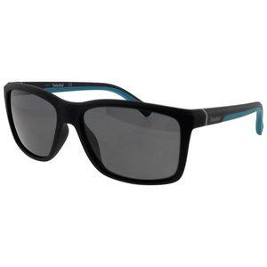 d6f5be4c55 TB9115-05D-57 Mens Black Frame Grey Sunglasses NWT